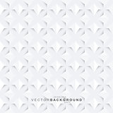 White geometric decorative texture - seamless.