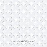 White geometric decorative texture - seamless.