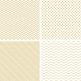 Geometric seamless vector patterns.