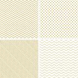 Geometric seamless vector patterns.
