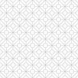Geometric ornamental pattern - seamless.