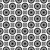 Seamless hypnotic pattern.