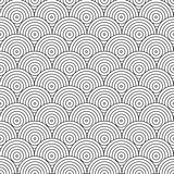 Vector geometric pattern. Tile mosaic circles.