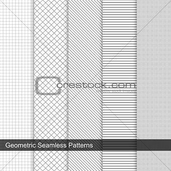 Grid geometric patterns
