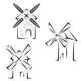 Set mills logos