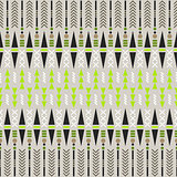 Ethnic seamless pattern. Aztec fabric design.