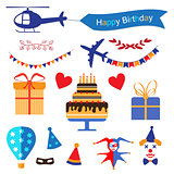 Party and Celebration icon collection