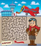 Maze 3 with aviation thematics 1