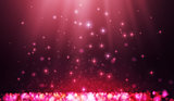 Shining blur bokeh background for your design.