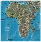 Africa detailed map