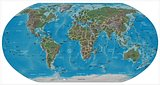 World detailed map