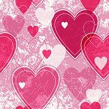 Seamless valentine pattern