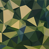 English Green Abstract Low Polygon Background