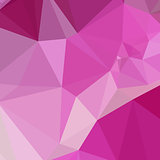 Fashion Fuchsia Pink Abstract Low Polygon Background