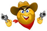 Cowboy emoticon