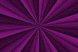 Vector purple abstract background, three shades of purple lines