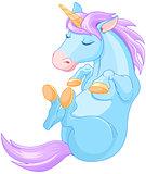 Magic Unicorn is Sleeping