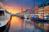 Copenhagen, Nyhavn Canal.