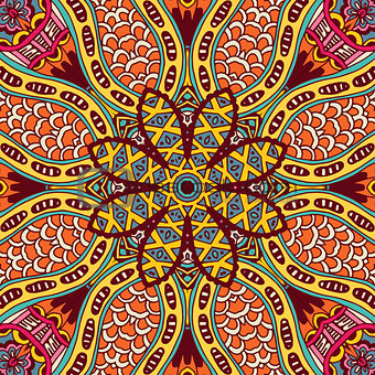 Abstract geometric ethnic pattern