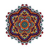 colorful mandala design