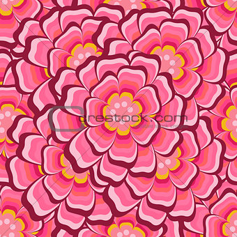 Abstract Seamless floral pattern with roses