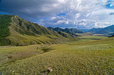 Valley in the Altai Mountains.