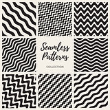 SVector Seamless Hand Drawn Wavy Lines Patterns Collection