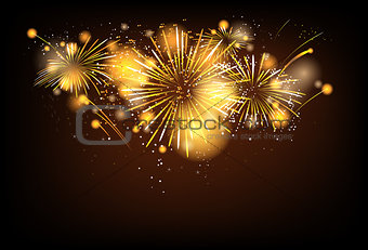 Firework background