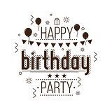 Festive Happy Birthday