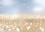 Twinkled Gold Sand Background
