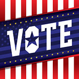 Vote Banner Illustration