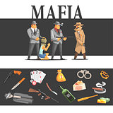 Mafia Taking Hostage And Their Equipment