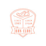 Run Club Red Label Design