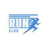 Run Club Blue Label Design