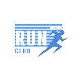 Run Club Blue Label Design