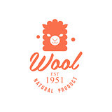 Wool Orange Product Logo Design