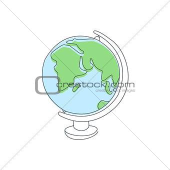 Classic School Globe