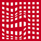 Red grid abstract background. Vector illustration. eps10