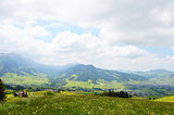 Apenzell mountain in Switzerland
