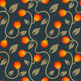 pattern with berries