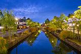 Kurashiki Canal in Japan