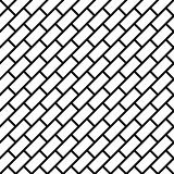 Geometric simple black and white minimalistic pattern, diagonal brick. Can be used as wallpaper, background or texture.