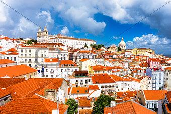 Alfama District of Lisbon