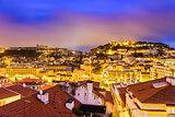 Lisbon, Portugal Cityscape