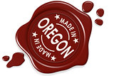 Label seal of Made in Oregon