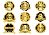 Gold Promotion Badges