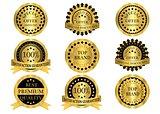 Gold Promotion Badges