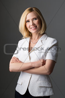 Business woman in suit