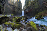 Abiqua Falls in Oregon State