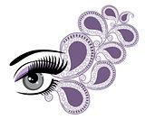 eye floral